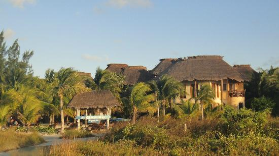 Villas HM Paraiso del Mar: hotel from beach