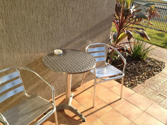 Noosa Sun Motel & Holiday Apartments: Patio