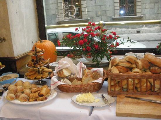 Hotel Francuski: this is only a small view of the breakfasts
