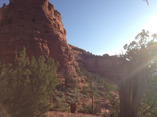 Enchantment Resort: Canyon sunrise