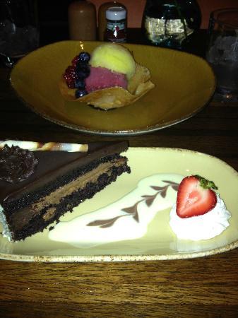 Enchantment Resort: desserts