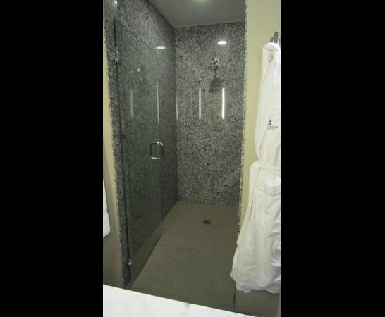 Ambassador Hotel Kansas City, Autograph Collection: Walk-in shower
