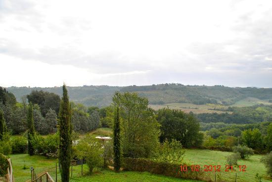 Torraccia di Chiusi: view from room 6