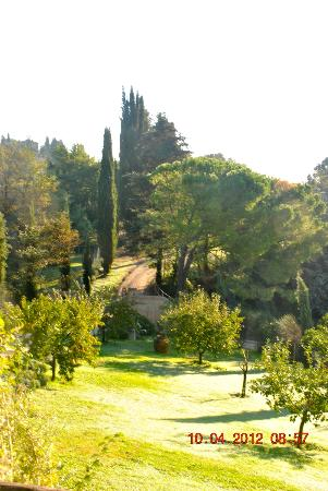 Torraccia di Chiusi: pilgrim's path