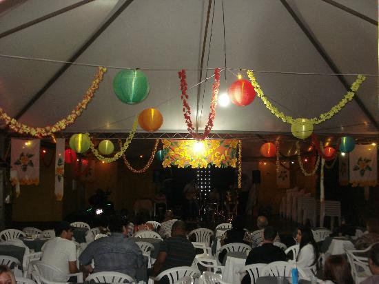 Granada Hotel: Decoração Festa Tropical