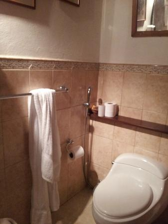 Posada Albacora: Baño 