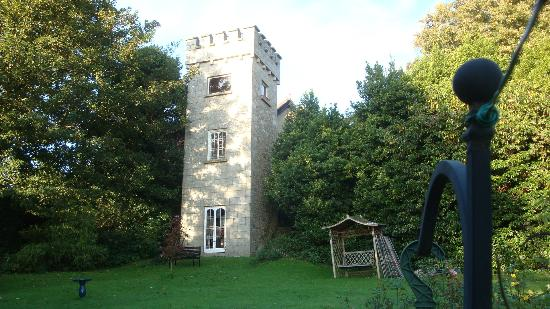 Druid Lodge: Tower in the back yard