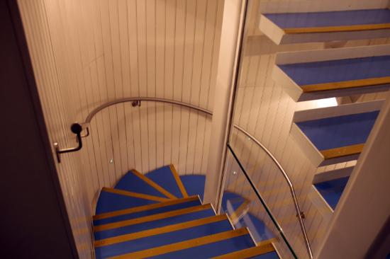 Leicester House: staircase