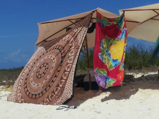 Posada Albacora: en la playa