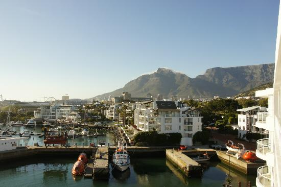 Radisson Blu Hotel Waterfront, Cape Town: Balcony view