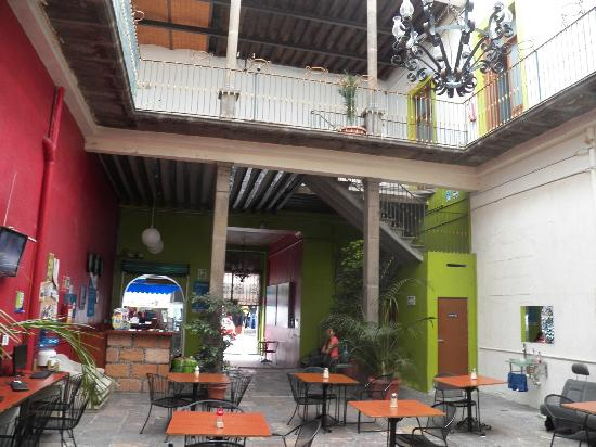 Hostal Santo Domingo: entrada