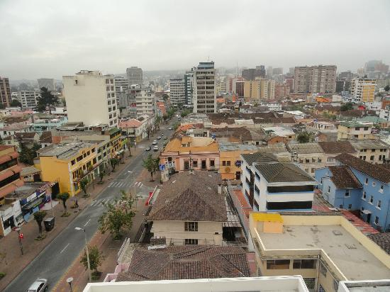 Hotel Reina Isabel: Vue depuis notre chambre