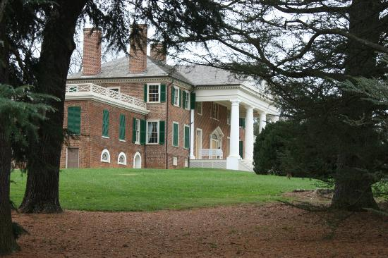 James Madison's Montpelier: View of the home of James and Dolley Madison