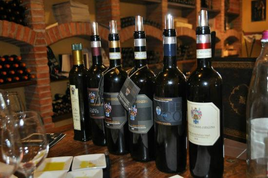 Castelnuovo dell'Abate, Italia: The wines