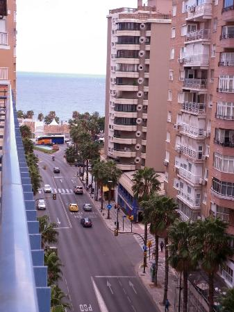 Hotel MS Maestranza: view to left from balcony