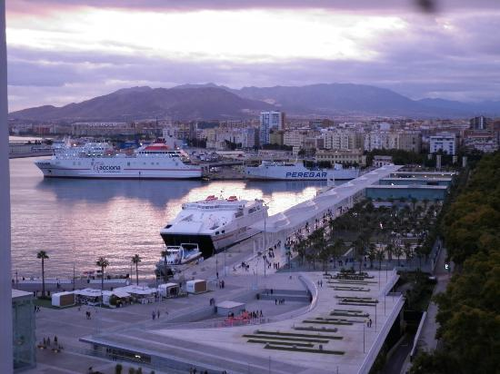 Hotel MS Maestranza: harbour view from roof terrace