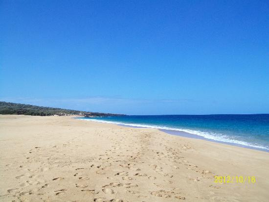 Aston Maui Hill: The Beach past Garden of the Gods Lanai