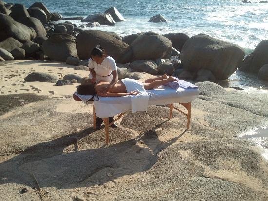 Villas Fa Sol: A Massage on a Private Beach...