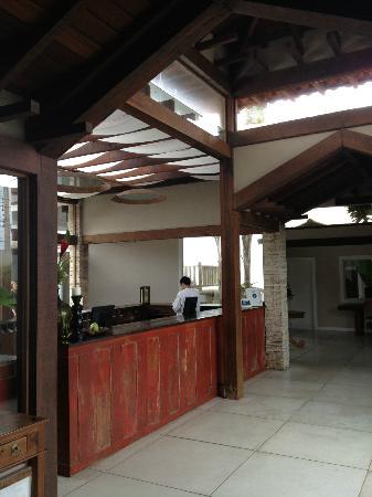 Villa Rasa Marina: Front desk