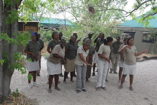 Sango Safari Camp: welcome song