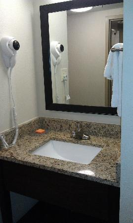 La Quinta Inn & Suites Richmond Midlothian: A separate sink from the shower area--bathroom was nice as well.