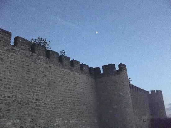 بوزادا كاستيلو دي إستريموز - هيستوريك هوتل: castle walls