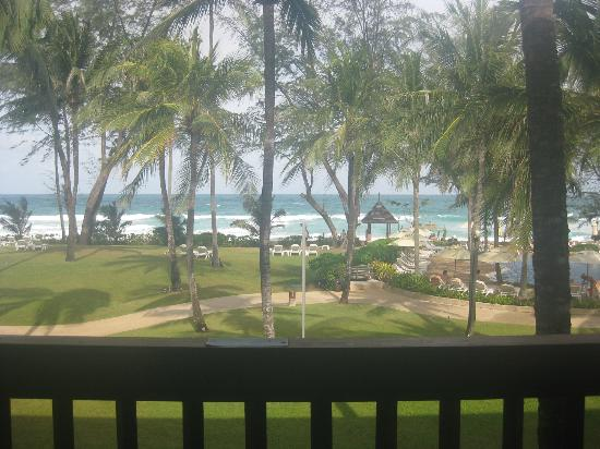 Katathani Phuket Beach Resort: View from jnr suite balcony