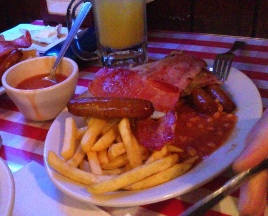 Blarney Rock Pub : Irish Breakfast no eggs