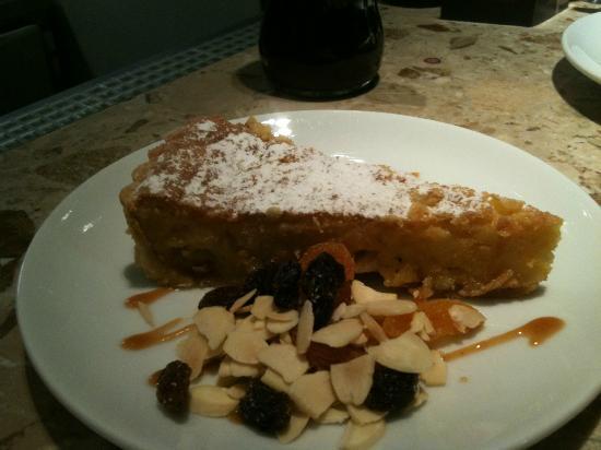 Barrafina: santiago tart.