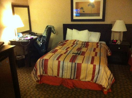 BEST WESTERN PLUS Westwood Inn: One of the beds in the room