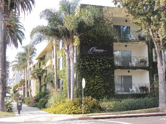 Oceana Beach Club Hotel Front Of