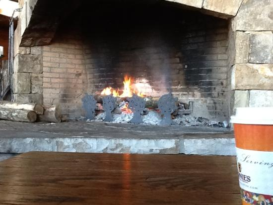 Brasstown Valley Resort & Spa: Nice fireplace