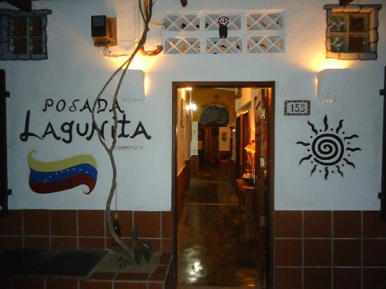 Posada Lagunita: Entrada de la posada