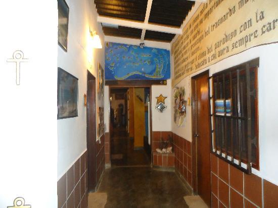 posada lagunita: Corredor