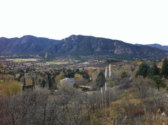 Cheyenne Mountain Resort: VIEW FROM THE BALCONY