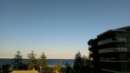 Ambience On Burleigh Beach: View from balcony, 5th floor, rear tower