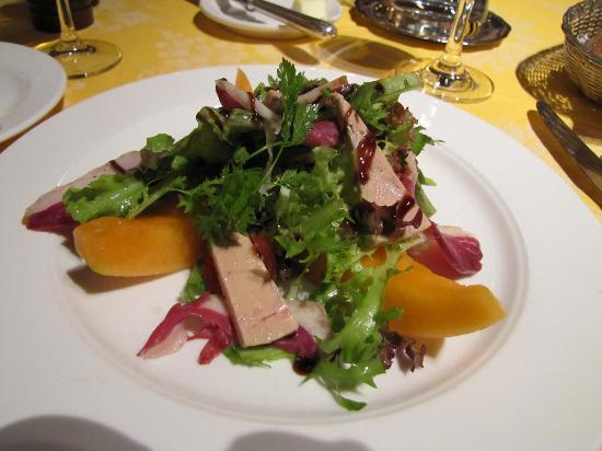 Hotel A la Cour d'Alsace: Duck salad
