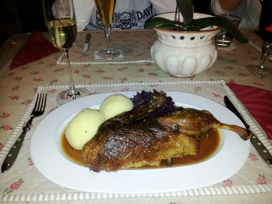 Landhaus Hotel Romantik: lecker , Abendessen im Romantikhotel