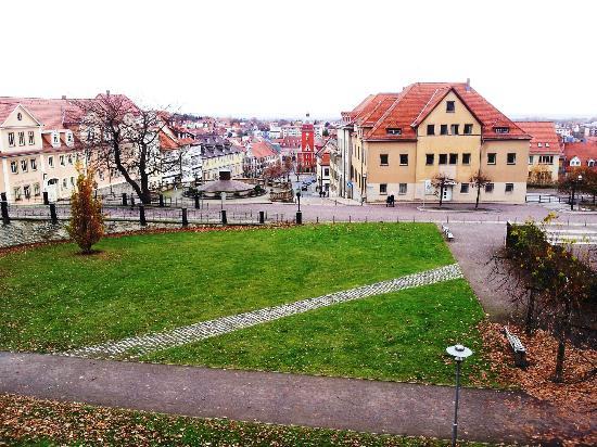 Landhaus Hotel Romantik: Marktplatz von Gotha
