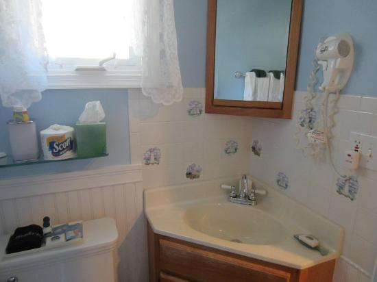 Albert Stevens Inn: Bathroom