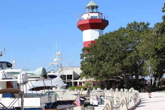 Hilton Head, Caroline du Sud : Harbour Town Lighthouse