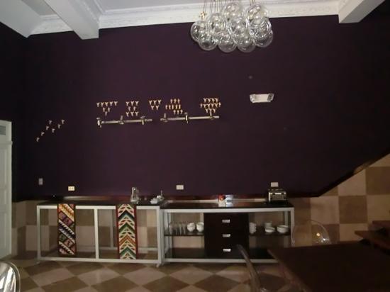 Maytaq Wasin Boutique Hotel: aussicht beim frühstück