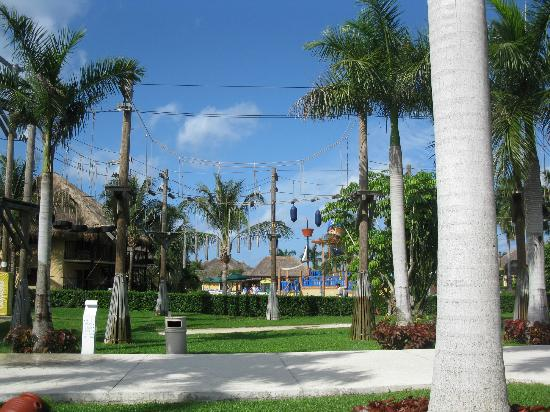 Allegro Cozumel: Beautiful grounds
