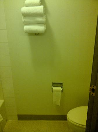 Super 8 Revelstoke BC: Toilet & Towels