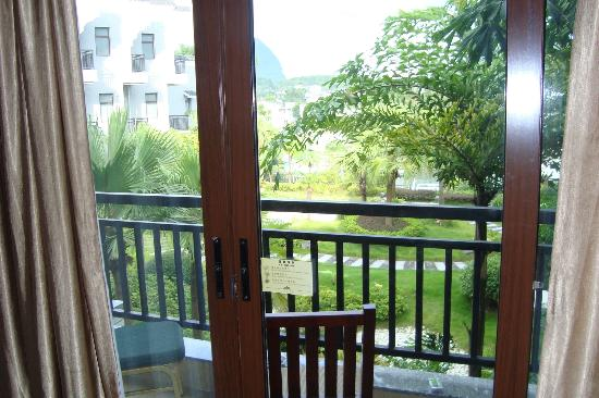Green Lotus Hotel: Balcony