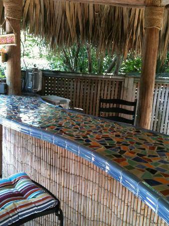 Crane's Beach House Boutique Hotel & Luxury Villas: The infamous Tiki Bar hot spot