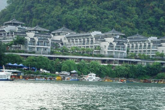 Green Lotus Hotel: Hotel from the Li River
