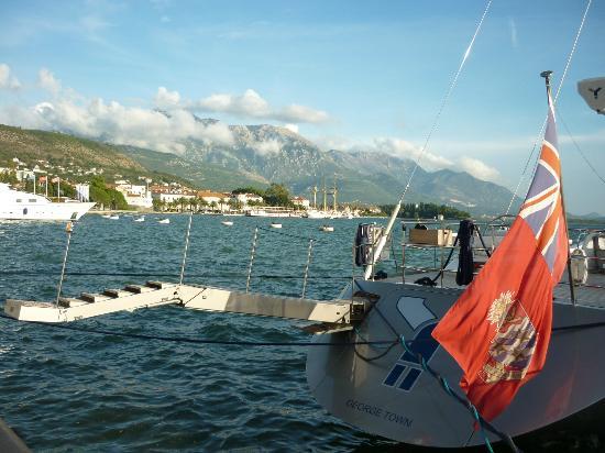 Mirela's Apartments: Kotor bay view near Prcanj.