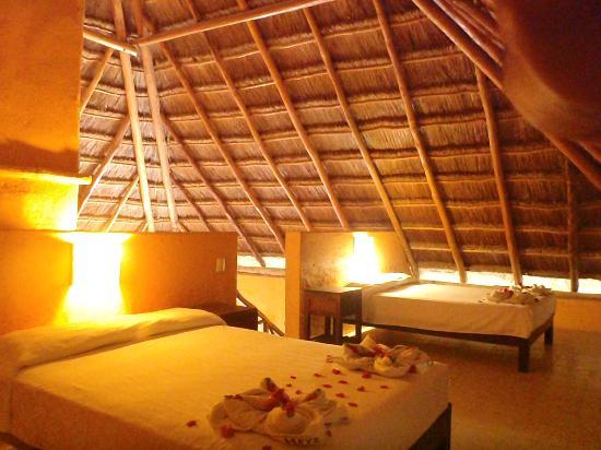Cabanas Zazilkin: HABITACION FAMILIAR DEL HOTEL