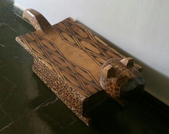 Hotel Rei Davi : leopard chair